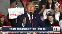 Trump FREAKS OUT After Seeing New Ad