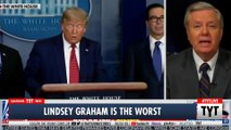 Lindsey Graham CRIES About Giving Poor People Money
