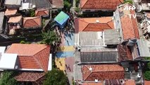 Coronavirus: Indonesia uses drones to disinfect dense areas