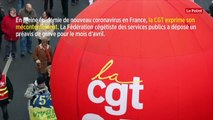 Coronavirus: la CGT des services publics dépose un préavis de grève