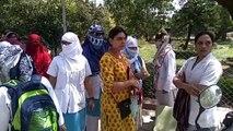 इंदौरः घर भेजे जाने की अनुमति देने की जिद पर अड़ी नर्सिंग हॉस्टल की छात्राएं
