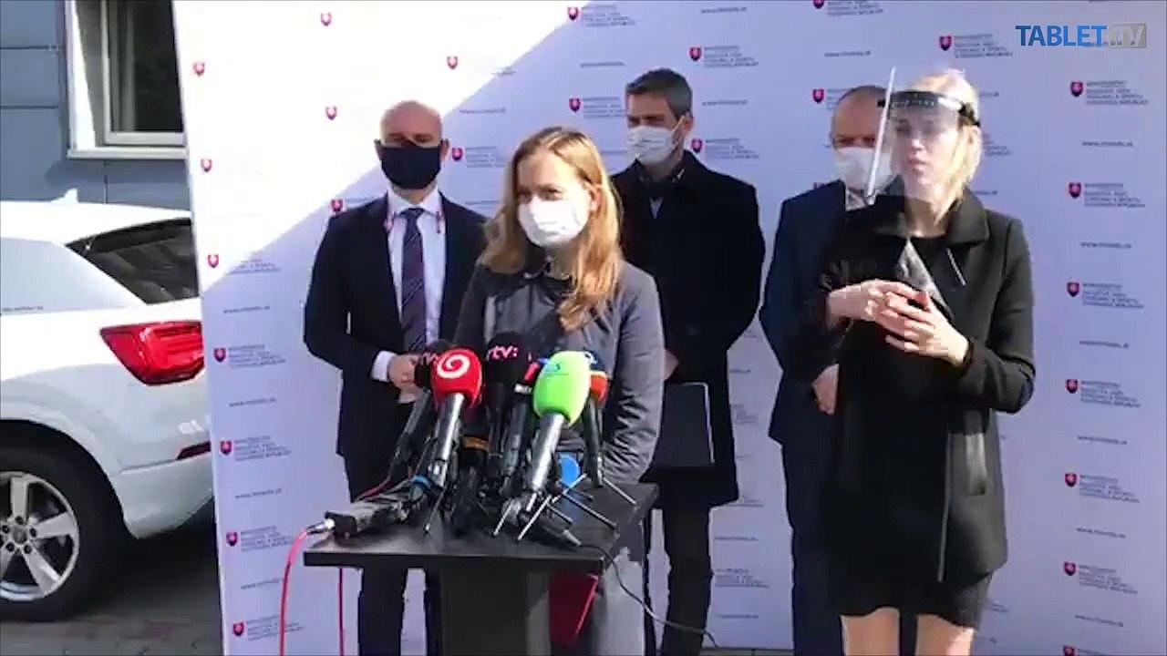 ZÁZNAM: TK ministra školstva, vedy, výskumu a športu SR Branislava Gröhlinga