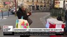 CORONAVIRUS - Avec le confinement, les clients sont moins nombreux chez les kiosquiers, qui tentent de survivre - VIDEO