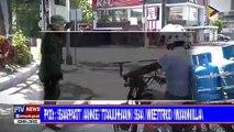 NCRPO: Sapat ang tauhan sa Metro Manila; kapakanan ng mga pulis sa NCR, tiniyak