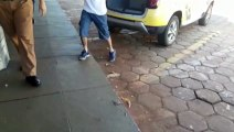 Violência Doméstica: Homem é detido pela PM no Bairro Alto Alegre