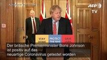 Boris Johnson positiv auf Coronavirus getestet