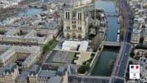 CORONAVIRUS - Regardez les images filmées depuis un drone des rues parisiennes quasi vides depuis le confinement - VIDEO
