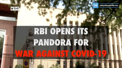 RBI opens it's pandora for war against COVID-19