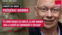 """Frédéric Worms : """"Les conflits vont mariner sous la cocotte du confinement et exploser"""""""