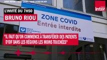 """Pr Bruno Riou : """"Il faut transférer des patients d'IDF dans les régions les moins touchées"""""""