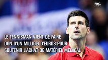 Coronavirus : Djokovic fait don d'un million d'euros à la Serbie