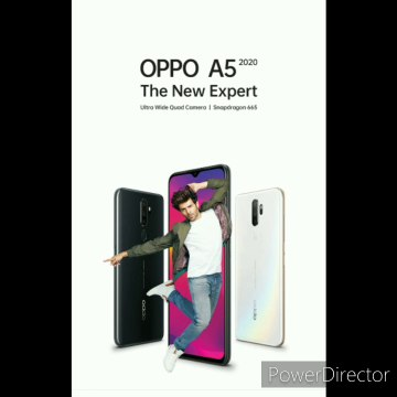 Oppo A 5 2020  Wide Quad Camera  5000mAh battery with Snapdragon 665 processor (The New Expert). Latest mobile
