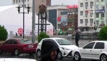 Meteorolojinin Uyarısı Sonrası Sağanak Yağış Başladı