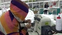 Amasya'da Sağlık Çalışanları İçin Antibakteriyel Tulum Üretiliyor