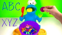 Play Doh Eating Cookie Monster and Paw Patrol