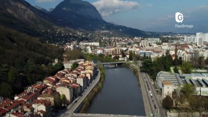 Reportage - Grenoble vue du ciel ! - Reportage - TéléGrenoble