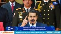 Exhortan a las Fuerzas Armadas venezolanas a entregar a Maduro | El Diario en 90 segundos