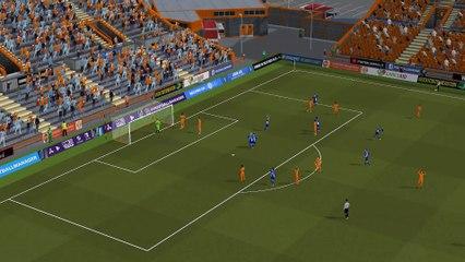(Enational-J28) Laval 3 - 1 Villefranche, les buts