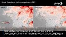 Coronavirus: Luftverschmutzung in Europa geht zurück