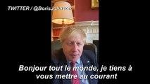 """Coronavirus/GB: Boris Johnson dit dans une vidéo avoir été testé positif au virus avec de """"légers symptômes"""""""