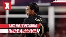 Carlos Vela reveló por qué no llegó a el Barcelona