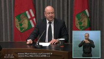 Manitoba records first COVID-19 death, announces new restrictions