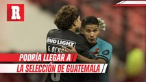 Jugador del América llegaría a Selección de Guatemala