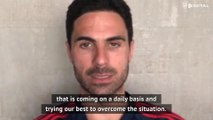 Arteta urges Arsenal fans to stay home amid coronavirus outbreak