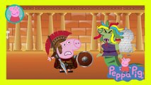 Peppa Pig Crying Dragons PIG Holiday In Egypt Finger Family Nursery Rhymes Action