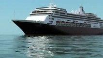 """Mueren cuatro pasajeros en el crucero """"Zaandam"""", anclado frente a Panamá"""