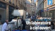 Une pharmacie parisienne fabrique 10.000 litres de gel hydroalcoolique par jour