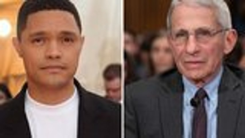 Dr. Anthony Fauci Makes Special Appearance on Trevor Noah's 'The Daily Social Distancing Show' | THR News