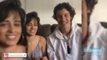 Shawn Mendes and Camila Cabello Held Meditation Session on Instagram Live   Billboard News