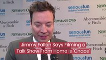 Jimmy Fallon Deals With Home Filming