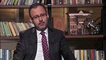 """Bakan Kasapoğlu, sosyal medyadan canlı yayımlanan """"Eşit Ağırlık"""" programına katıldı (2)"""