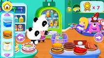 Baby Panda's Supermarket Kids Learn And Help Shopping With Mom Fun Baby Panda Game For Kids