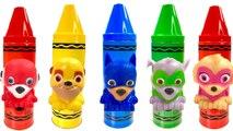 Opening Paw Patrol Crayon Toys