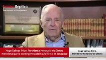 Hugo Salinas Price y el Covid-19