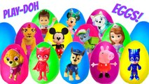 16 Play Doh Eggs With Paw Patrol