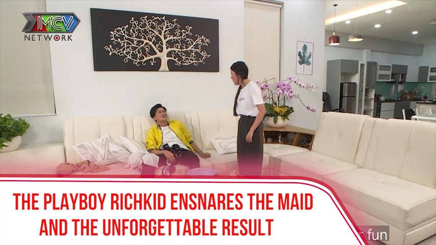 THE PLAYBOY RICHKID ENSNARES THE MAID AND THE UNFORGETTABLE RESULT