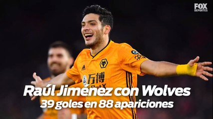 ¿Raúl Jiménez seguirá en el Wolverhampton Wanderers?