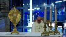 Coronavirus outbreak- Pope Francis holds dramatic Urbi et Orbi service in empty St. Peter's Square