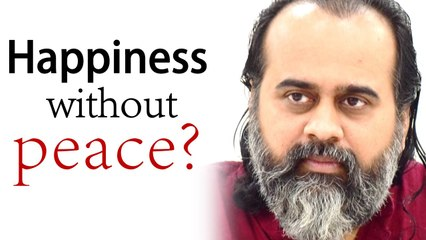 Looking for happiness without peace? || Acharya Prashant, on Bhagvad Gita (2020)