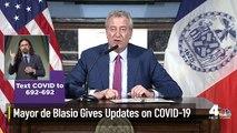 Mayor de Blasio Gives Updates on Coronavirus in NYC
