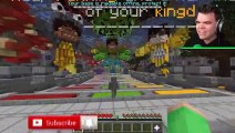 FIRING CANNONS At My Best Friends CASTLE In MINECRAFT!