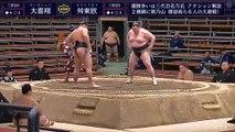 Daikisho vs Masutoo - Haru 2020, Sandanme - Day 14