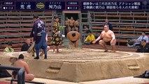 Aratora vs Masunoyama - Haru 2020, Sandanme - Day 14