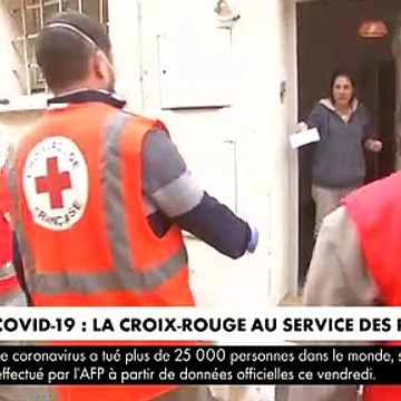 Coronavirus : La Croix-Rouge se mobilise pour aider les personnes en difficulté pendant cette épidémie et lance un appel aux dons