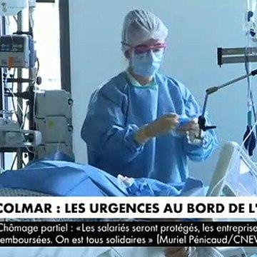 Coronavirus - L'hôpital de Colmar au bord de l'asphyxie : Reportage au coeur du service de réanimation