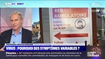 """Coronavirus: """"On commence à voir des personnes guéries qui une ou deux semaines après redémarrent des symptômes"""", raconte le Pr Perronne"""